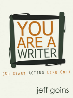 you are a writer book