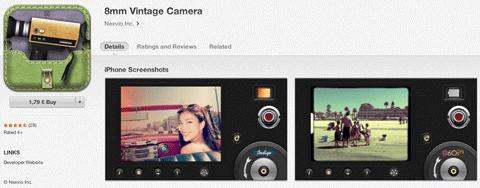 8mm vintage app