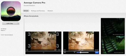 average camera pro app