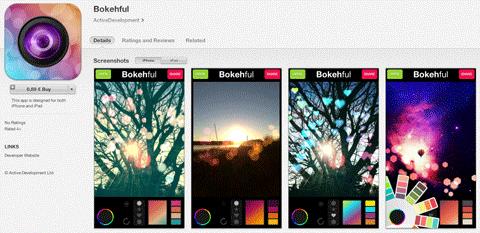 bokehful app