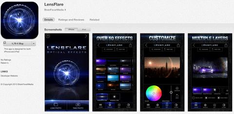 lensflare app