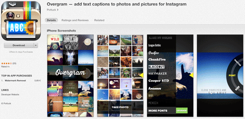 how to add text to a photo on instagram