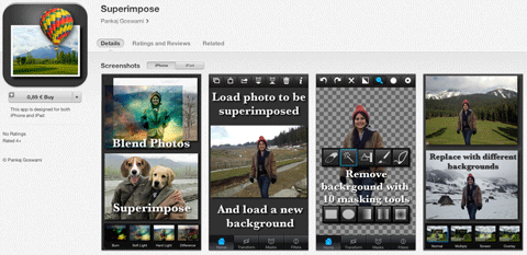 superimpose app