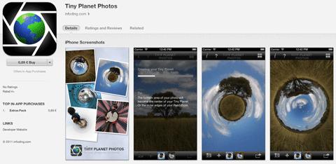 tiny planet app