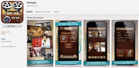 vintagio app