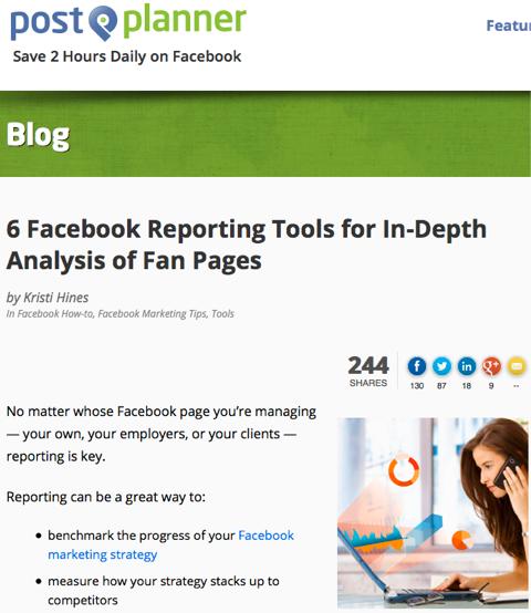 6 facebook reporting tools
