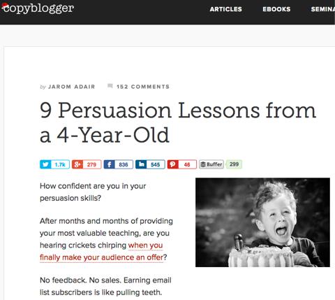 9 persuasion lessons