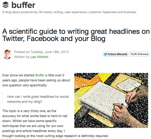 a scientific guide to writing great headlines