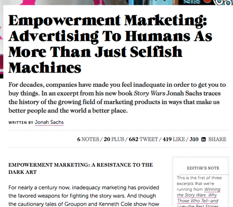 empowerment marketing