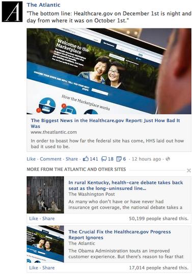 Facebook News Feed Update