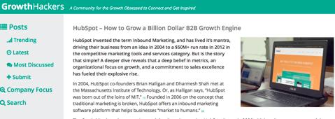 growth hackers hubspot