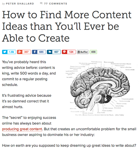 how to find more content ideas