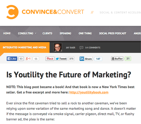 is youtility the future of marketing