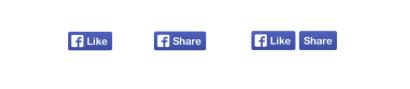 neue Facebook-Buttons
