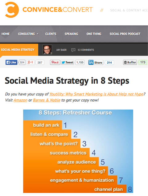 social media strategy in 8 steps