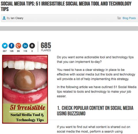 social media tips razorsocial