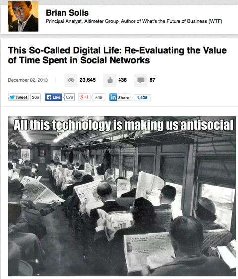 this so called digital life