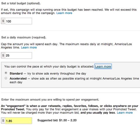 promoted-tweet-budget-setup