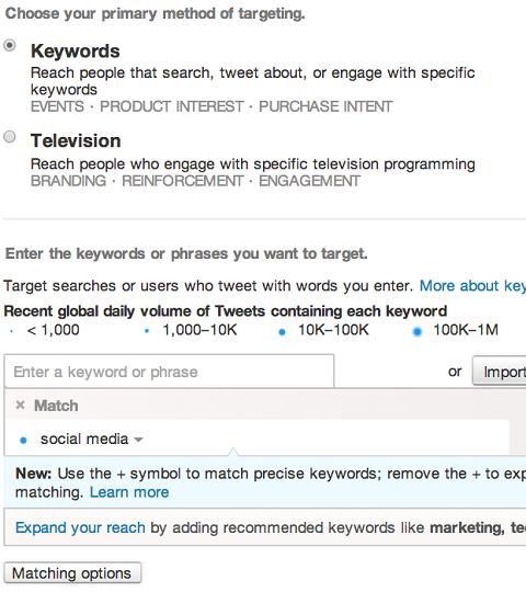 promoted-tweet-keyword-setup