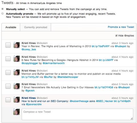promoted-tweet-selection-setup