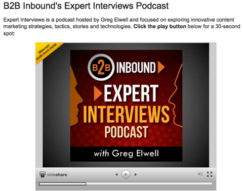expert interviews podcast