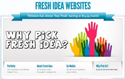 fresh idea websites