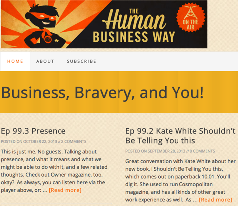 hbw podcast show