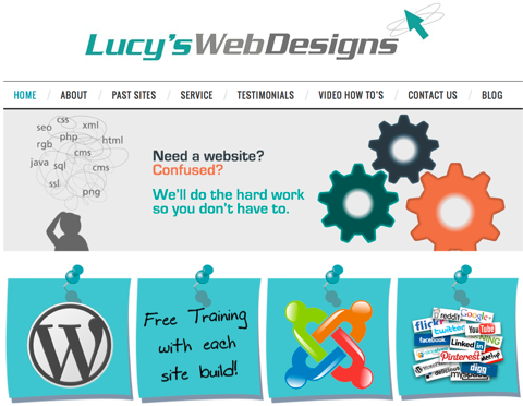 lucys web designs