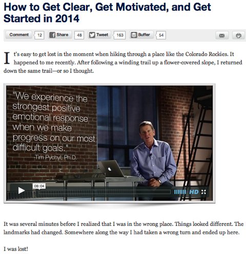 michael hyatt blog article