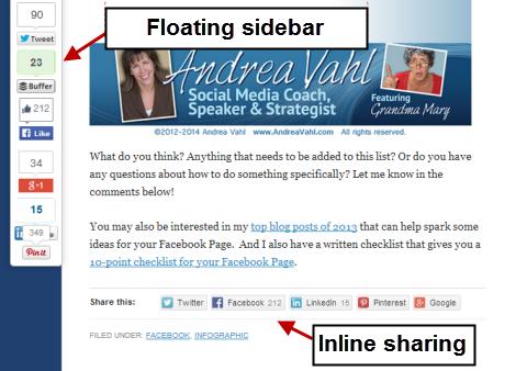 digg digg sharing plugin