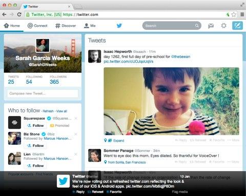 twitter web refresh look
