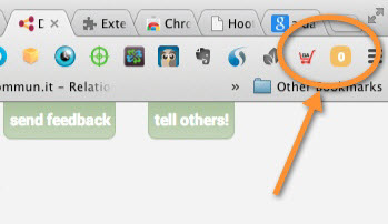 doshare toolbar icon