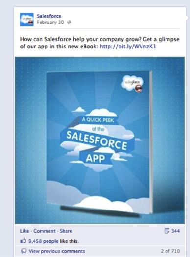 salesforce facebook ad