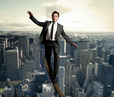 man-maintaining-balance-istock-image