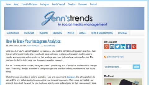 Jenns Trends Blog