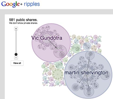 view google+ ripples