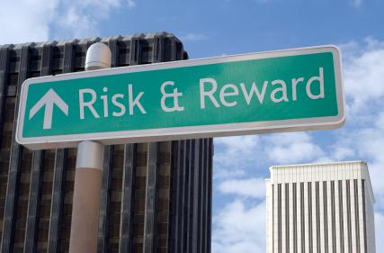 Risiko und Belohnung voraus