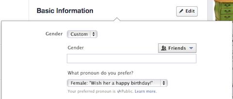 facebook gender diversity