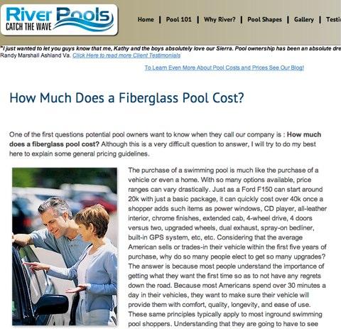 fiberglass pool cost