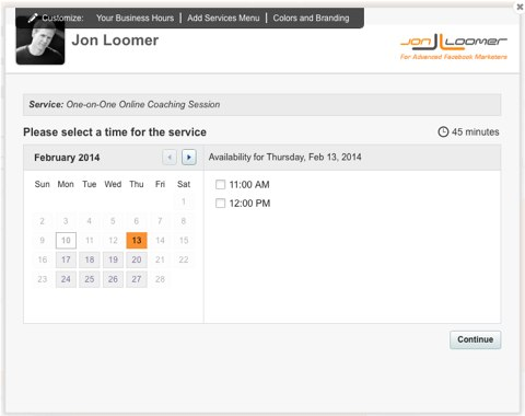 jon loomer scheduling