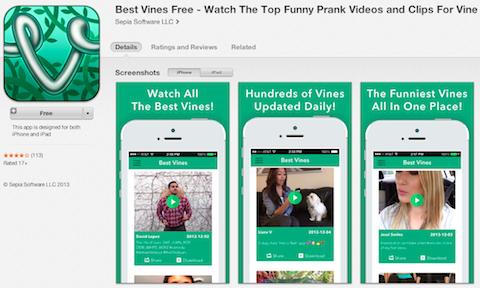 best vines app