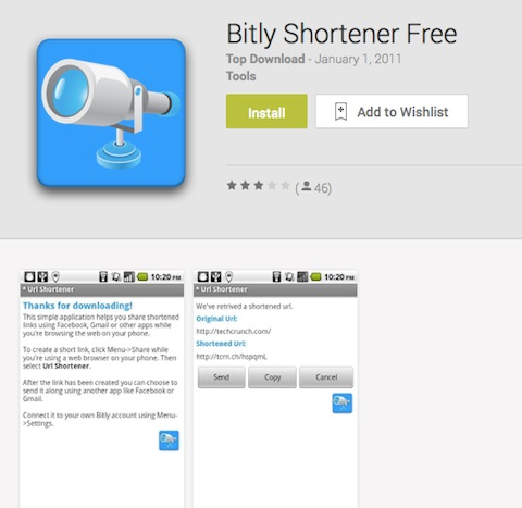 bitly app