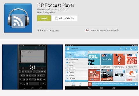 podcast player app