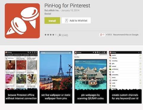 pinhog app