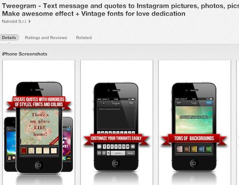 tweegram app