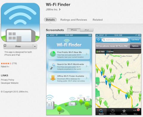 wifi finder app