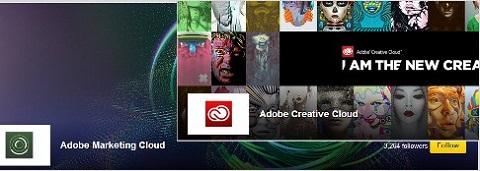 adobe showcase page
