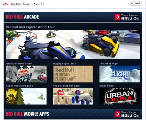 red bull sharable games
