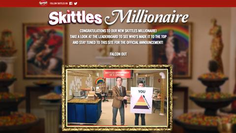skittles leaderboard contest