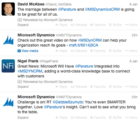 microsoft parature tweet